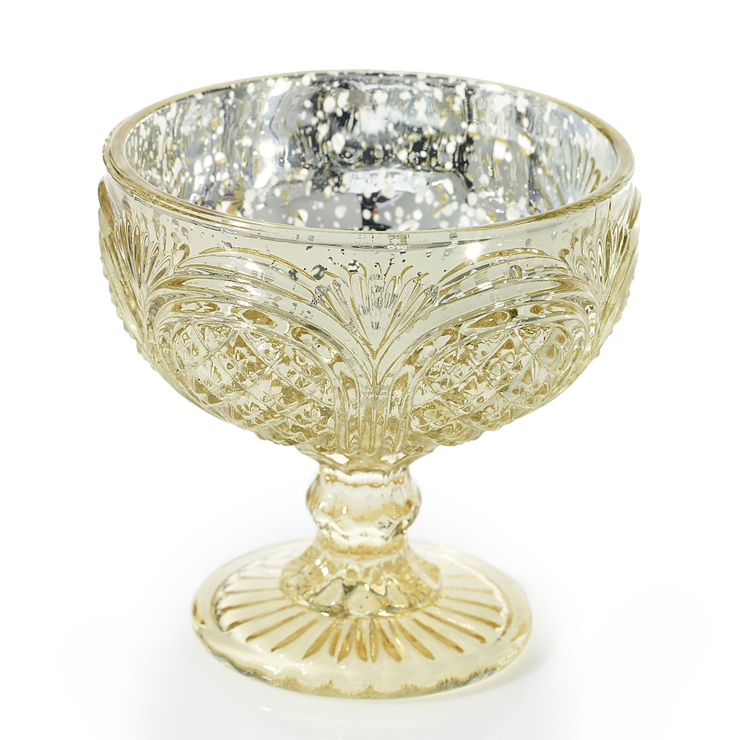 Mercury Glass Centerpiece Bowl – Dream Wedding Shop